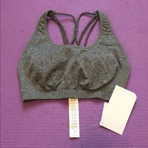 Gray Fabletics bra